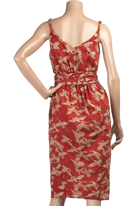 Red Needless To Say Dress Sass Bide Net A Porter