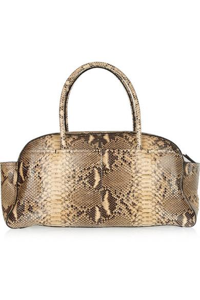 Lanvin | JL Large python bowling bag