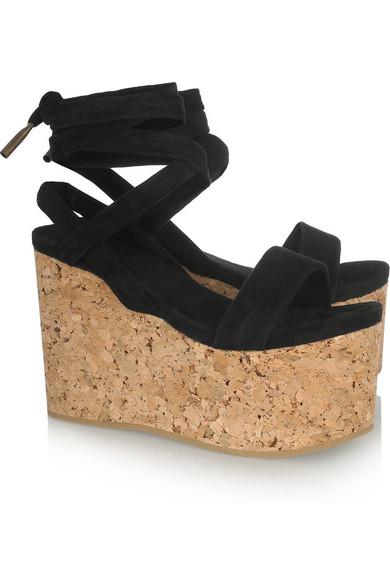 b04fd9e9673 Isabel Marant. Suzy suede and cork platform sandals