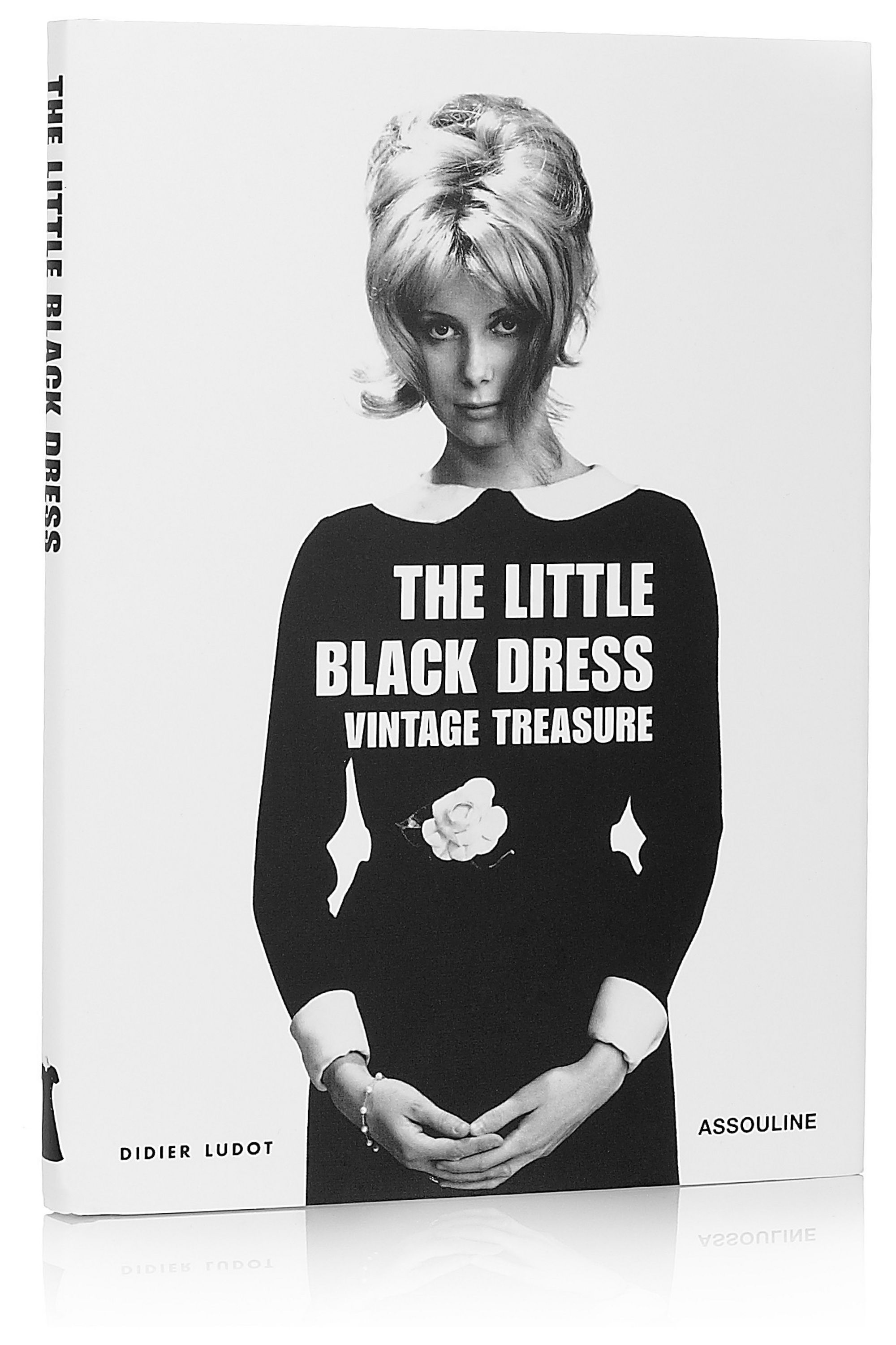 White Little Black Dress By Didier Ludot Hardcover Book Assouline Net A Porter