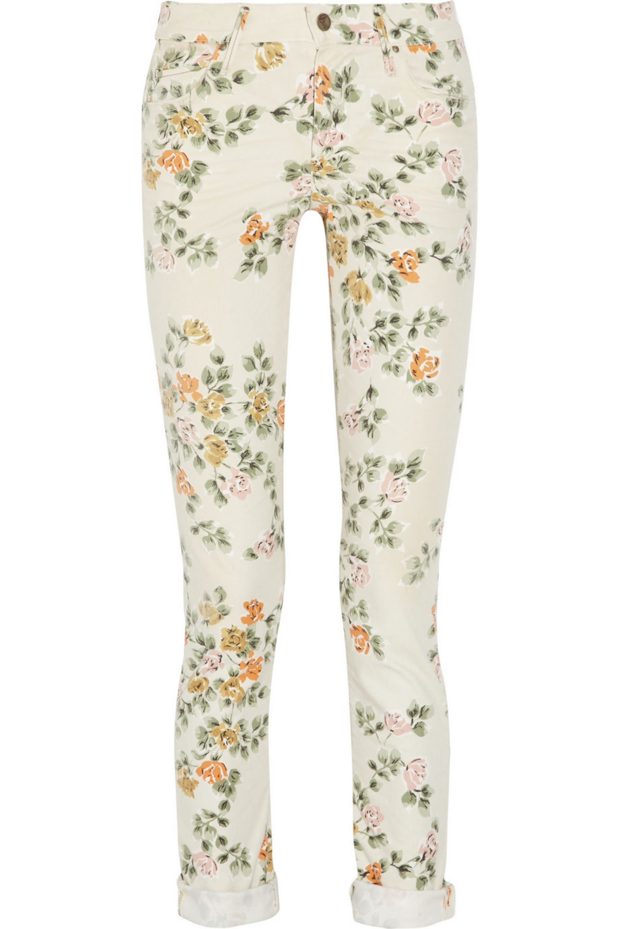 Citizens of Humanity Mandy printed high-rise skinny jeans