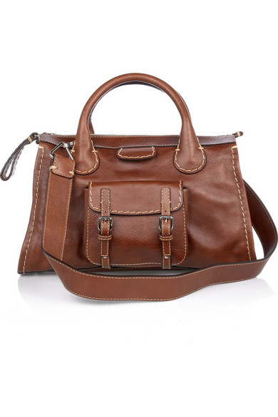 Edith Leather Tote
