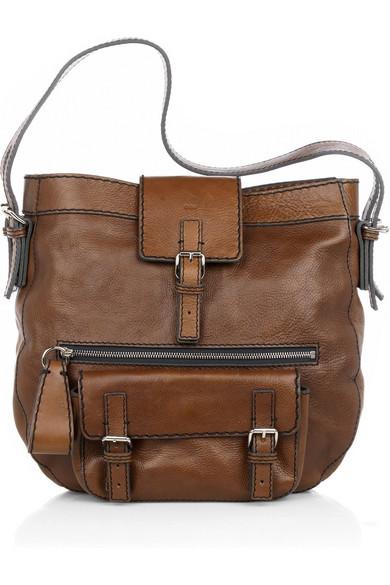 Edith Leather Shoulder Bag