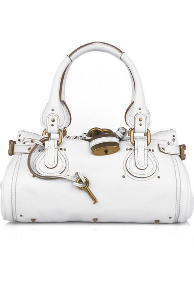 9af61cb1e1 Chloé. Paddington leather bag