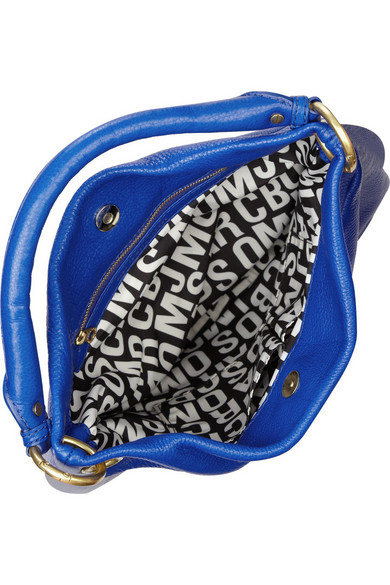 a2b8407ee930e Marc by Marc Jacobs. Classic Q Hillier Hobo textured-leather shoulder bag.   299.60. Zoom In