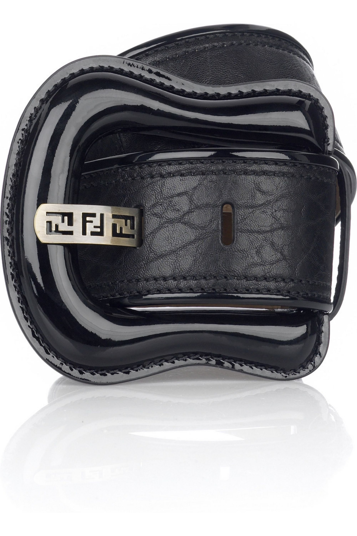 Fendi Large B buckle belt
