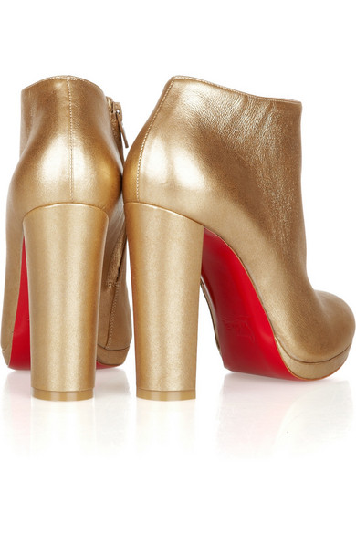 christian louboutin rock and gold