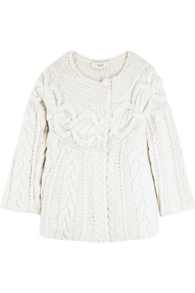 Pringle of Scotland | Hand knitted cashmere cardigan | NET-A ...