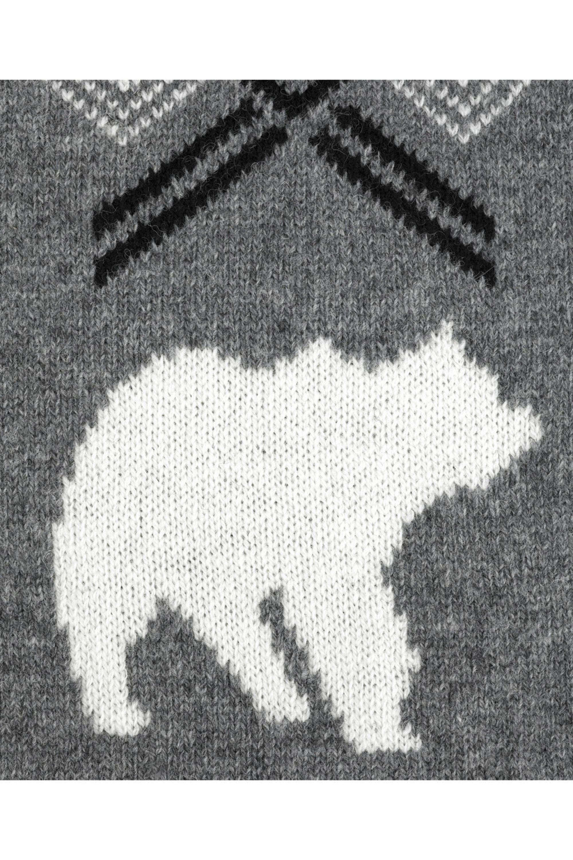 Stella McCartney Polar bear scarf