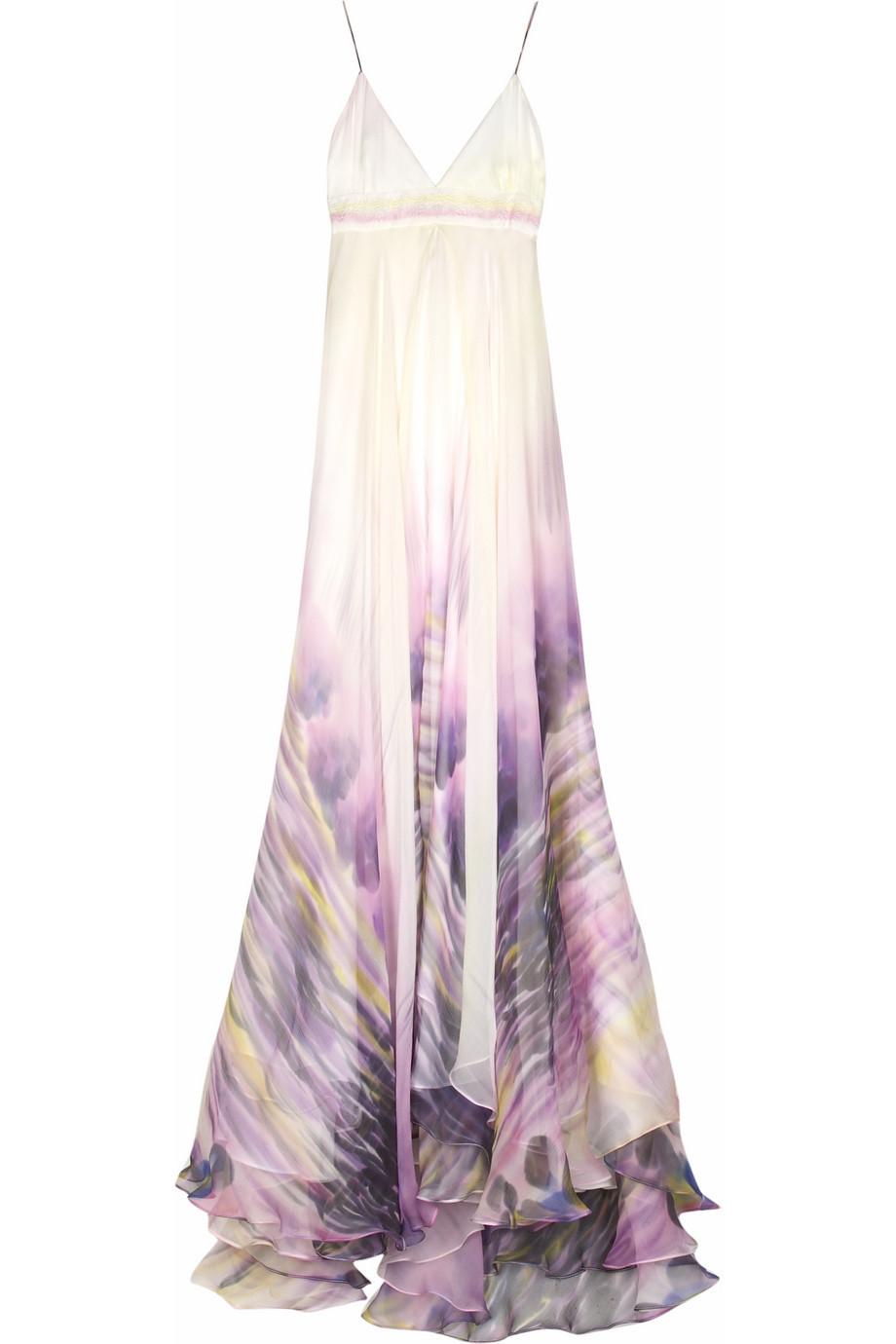 Matthew Williamson Hand painted maxi dress |NET-A-PORTER.COM from net-a-porter.com