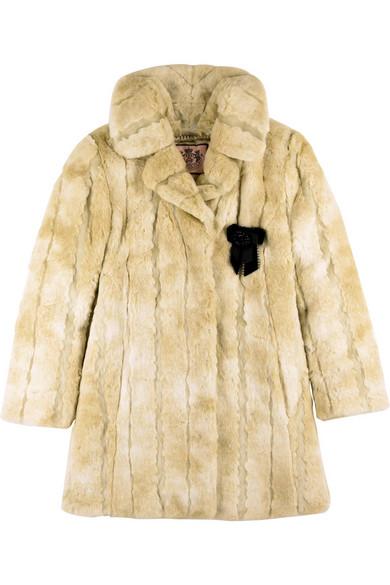 52d1fece687b Juicy Couture | Faux fur coat | NET-A-PORTER.COM