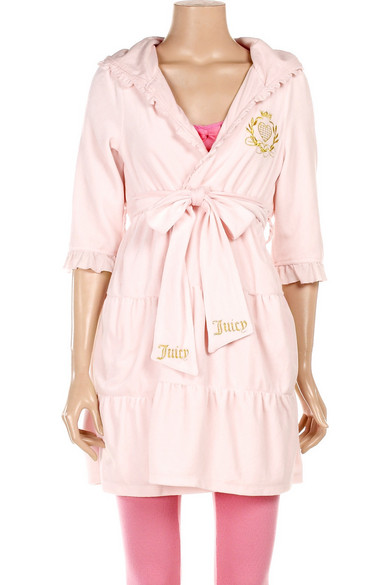 Juicy Couture | Hooded robe | NET-A-PORTER.COM