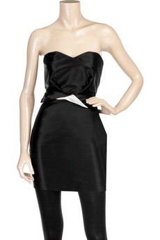 Roksanda IlincicStrapless mini dress