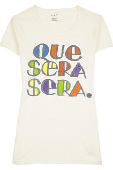 Sass & BideQue Sera Sera T-shirt