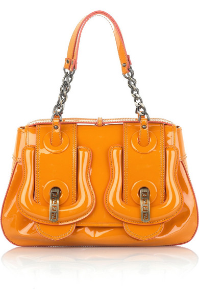 5defbc8c46 Fendi | Patent leather B bag | NET-A-PORTER.COM