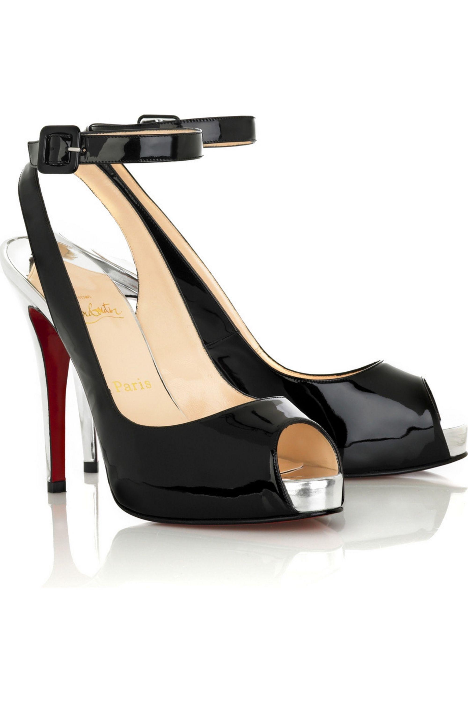 Christian Louboutin Privatita peep-toe pumps