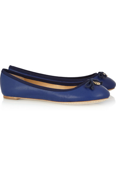 287f3f97620a Tory Burch. Chelsea leather ballet flats