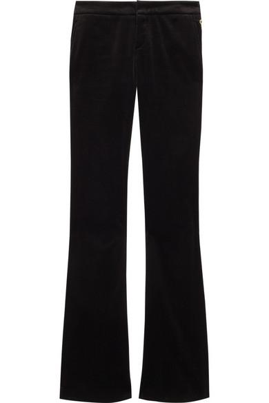 Velvet flared pants Gucci Df51H