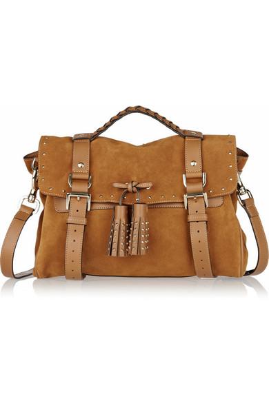 Mulberry. Tassel studded suede bag a9f84ec936877