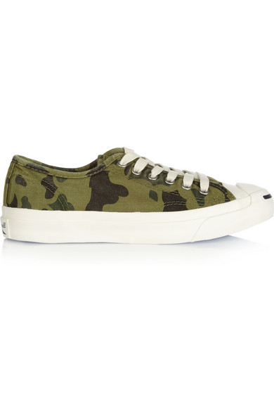 3c185f3b045d6b Jack Purcell camouflage-print canvas sneakers