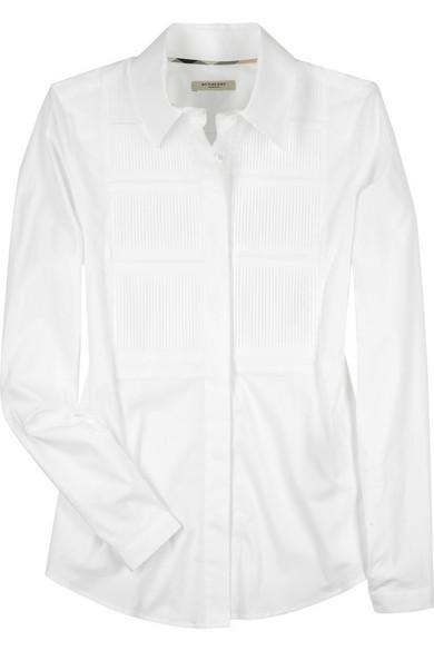 Burberry Accessories. Pleated tuxedo shirt b06d72b928