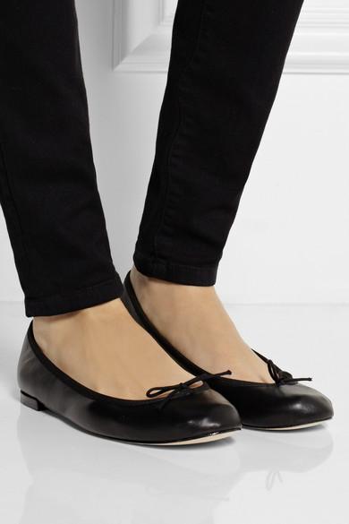 de2dfdfb5f7 Repetto. The Cendrillon leather ballet flats