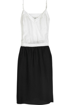 black and white day birger et mikkelsen daily slip dress