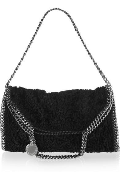 6e3ab26d53 Stella McCartney. Falabella convertible textured faux fur bag