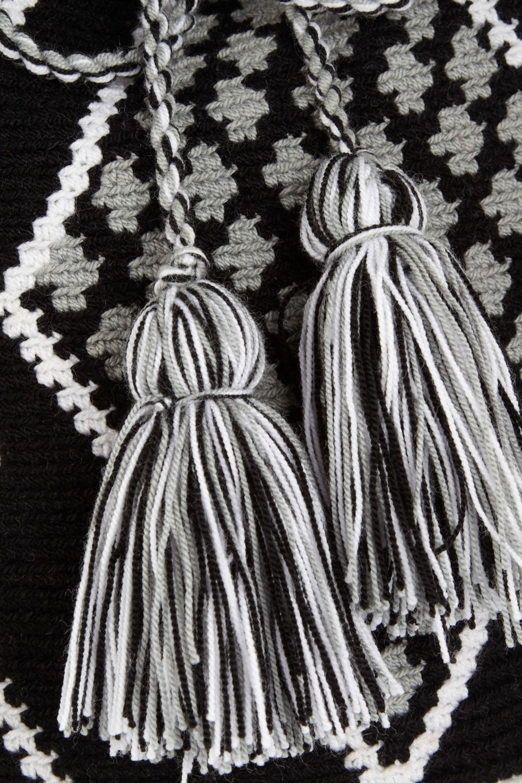 Wayúu Taya Mochilla hand-woven cotton shoulder bag
