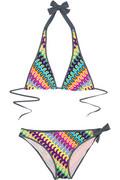 MissoniZigzag halter bikini