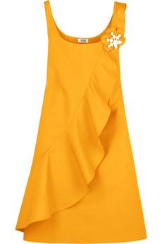 Moschino Cheap & Chic Yellow Trapeze dress