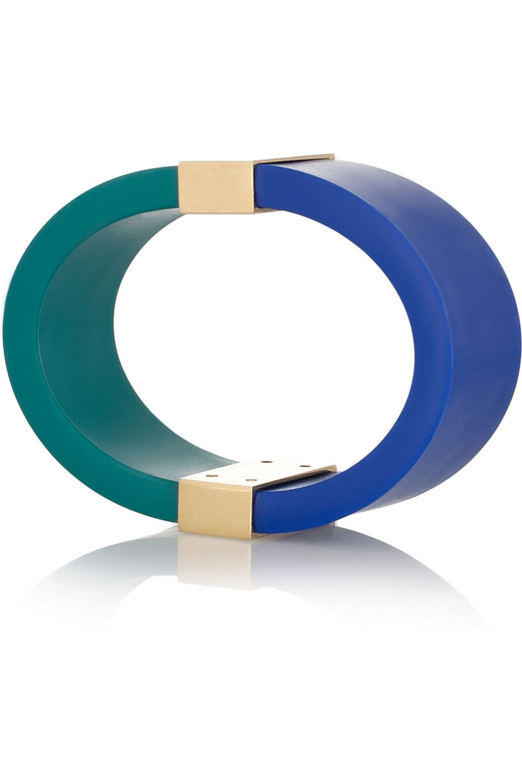 Etro Color-block rubber bangle