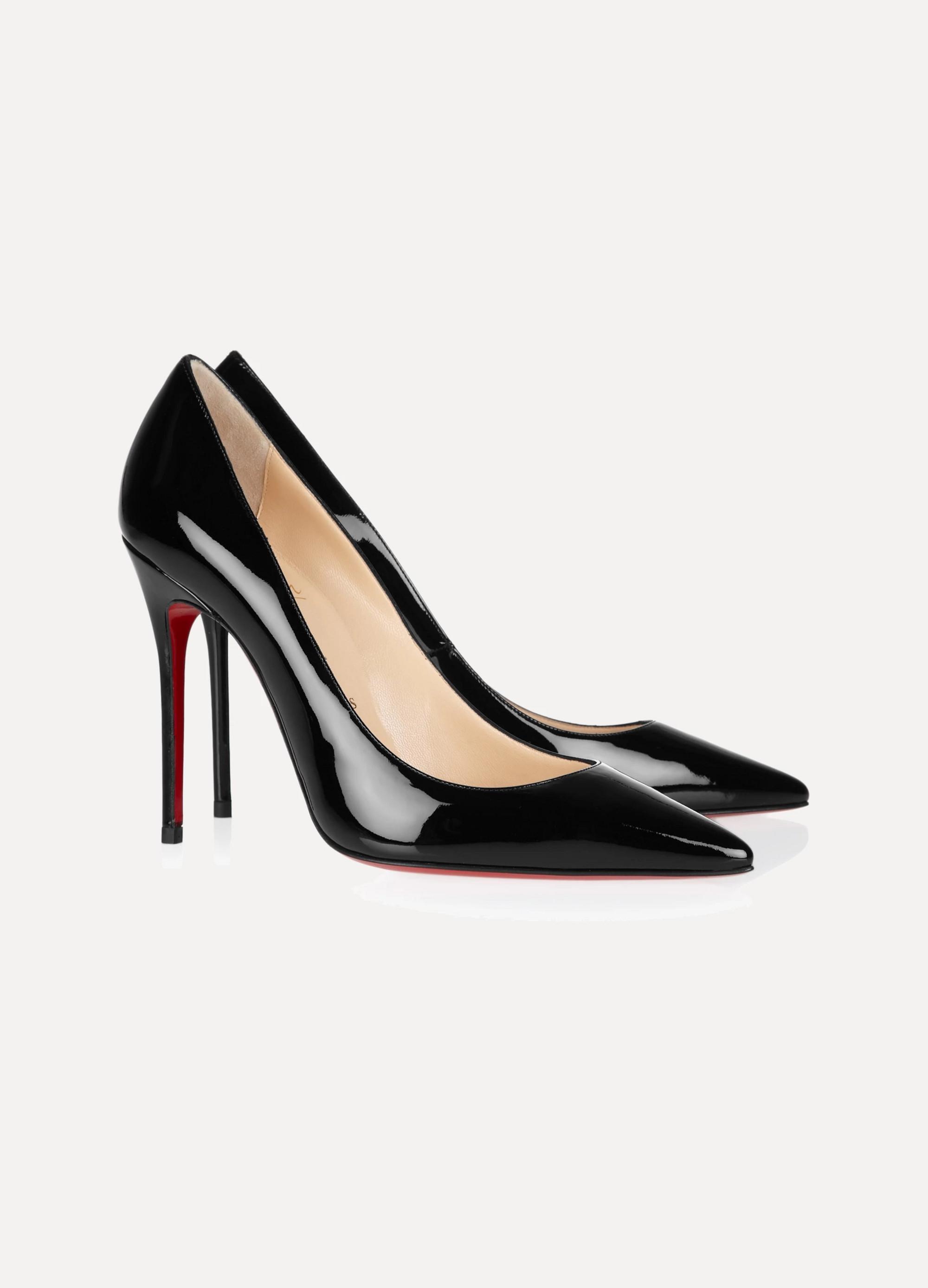 Noir Decollete 554 100 patent-leather