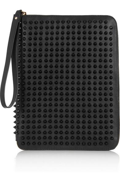1ef5b02ca85 Cris spiked leather iPad case