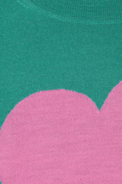 J.Crew Tippi fine-knit merino wool heart sweater