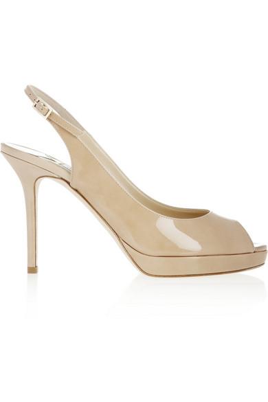 0a465f9b059 Jimmy Choo. Nova patent-leather sandals