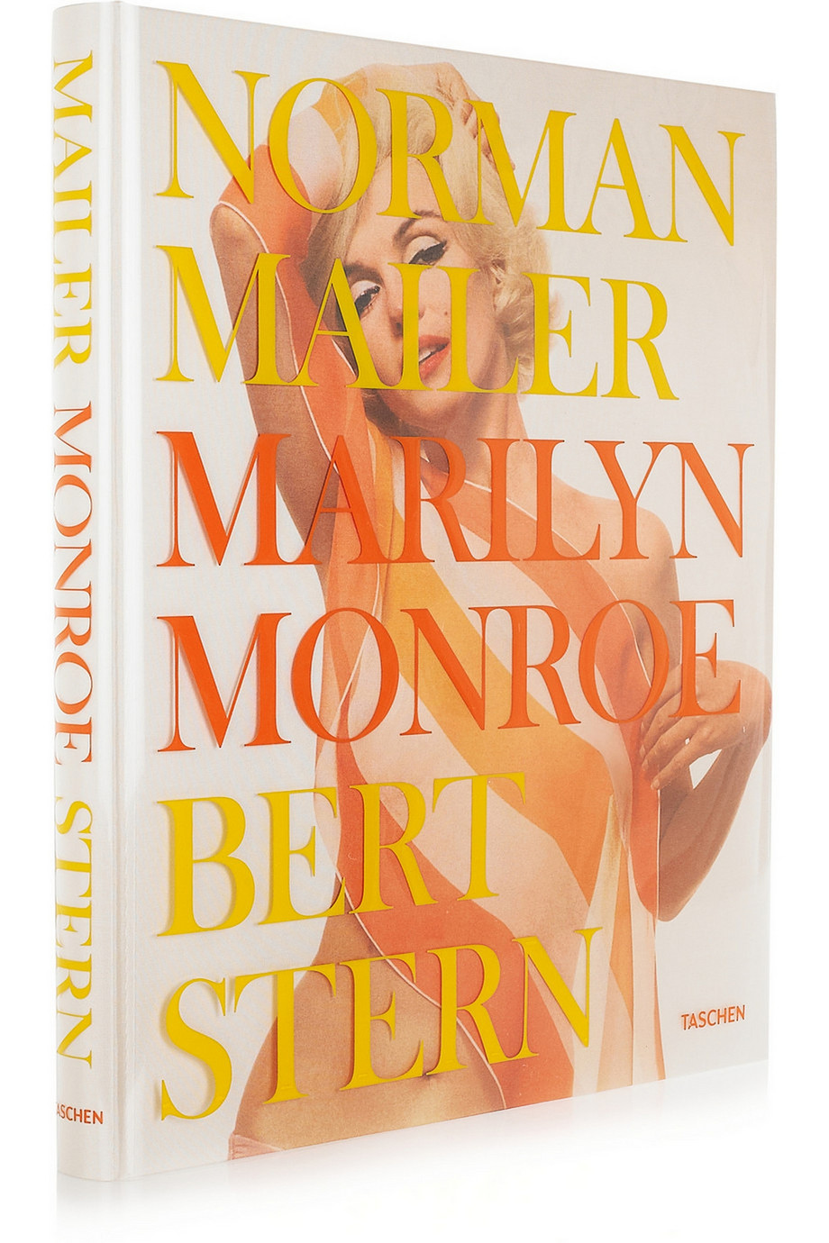 Taschen Norman Mailer, Marilyn Monroe, Bert Stern by Lawrence Schiller Large Hardcover Book