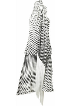 Alexander McQueen Polka dot dress