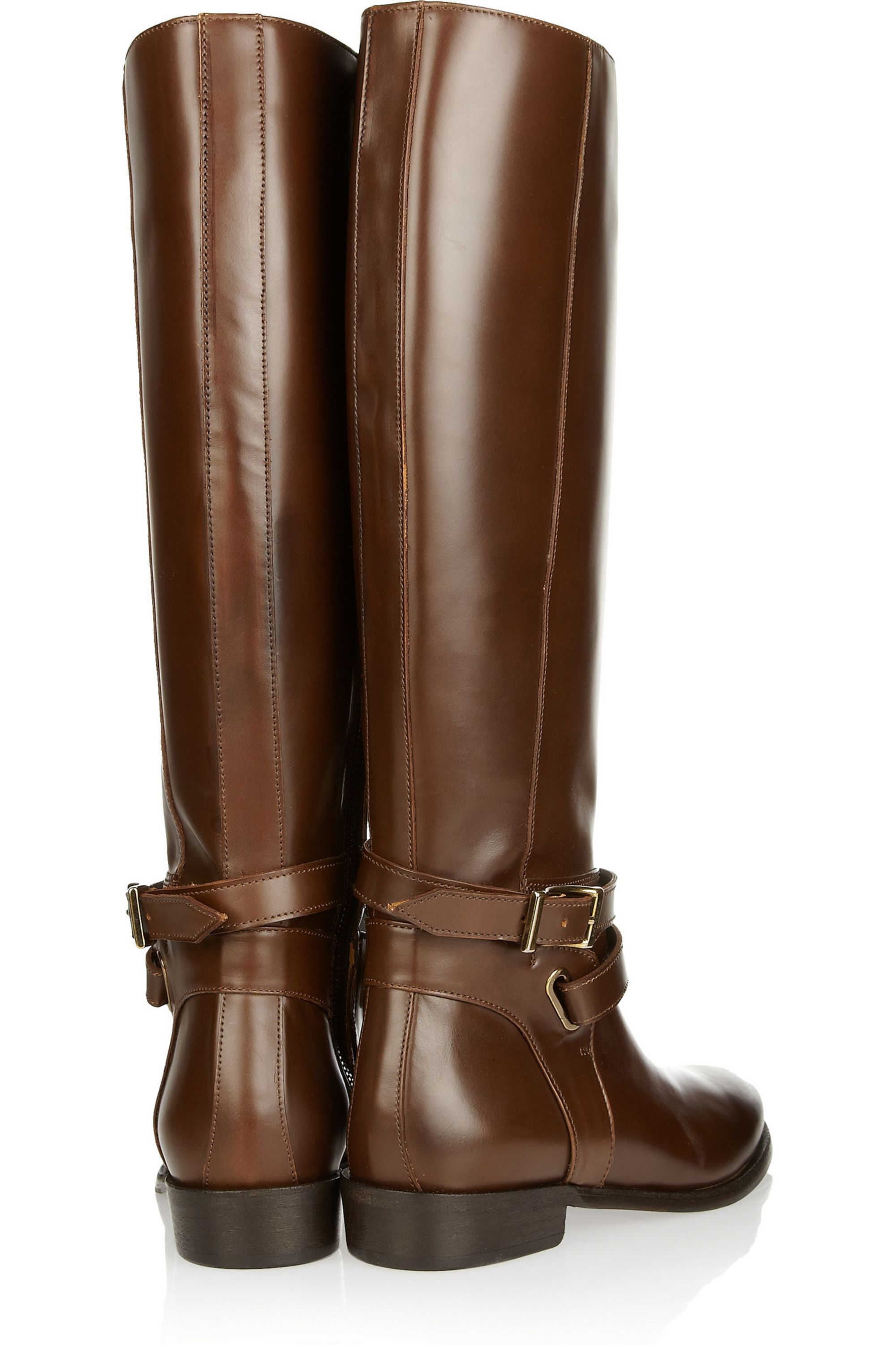 Burberry Leather riding boots