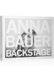 Backstage by Anna Bauer hardcover book