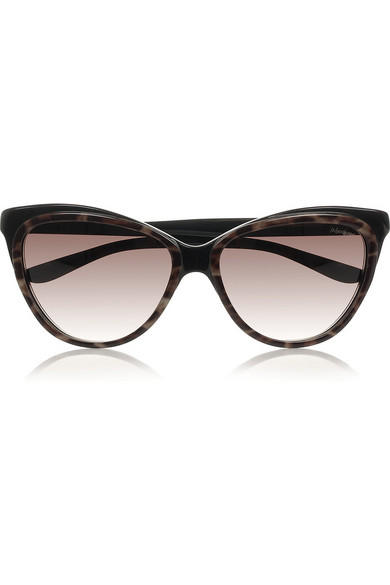 a60db63e10ea Yves Saint Laurent | Cat eye acetate sunglasses | NET-A-PORTER.COM