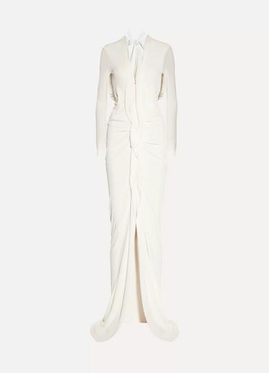 Roland Mouret Compeyson Robe aus Stretch-Crêpe mit Rückenausschnitt