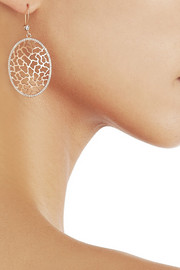 Ileana Makri Ishtar 18-karat rose gold diamond earrings