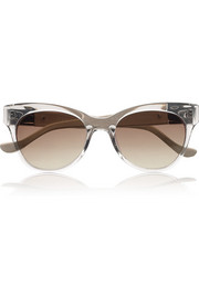 The Row Cat eye acetate sunglasses
