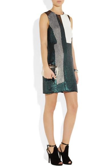 3.1 Phillip Lim  Sequined silk dress  NET-A-PORTER.COM