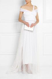 Sophia Kokosalaki Metis tulle-covered silk gown