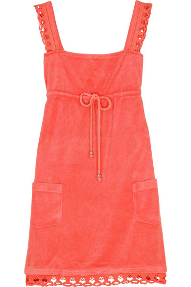 46670dde85 Juicy Couture | Camisole terrycloth dress | NET-A-PORTER.COM