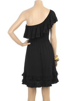 Juicy Couture One-shoulder ruffle dress