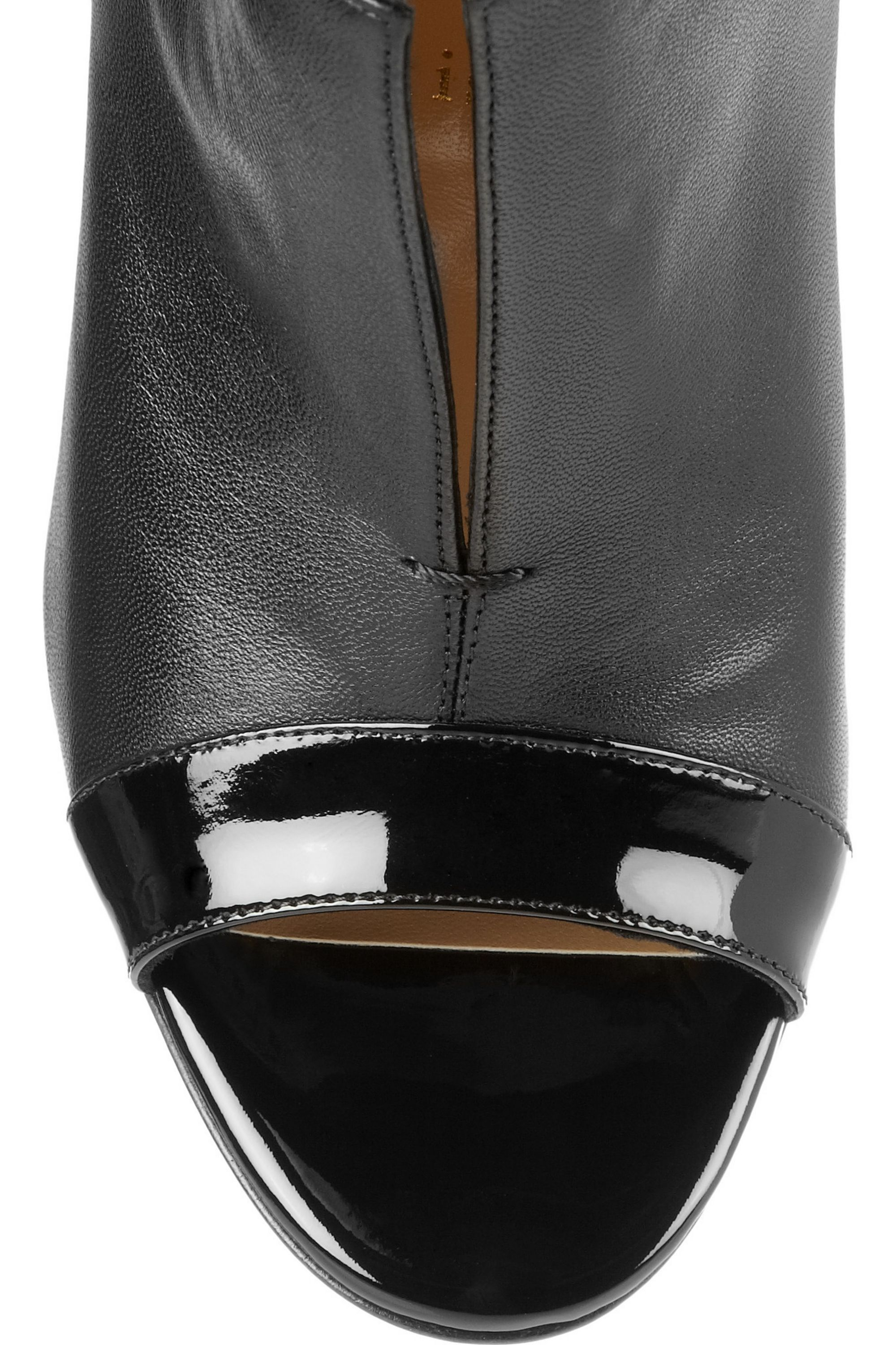 Christian Louboutin Diptic 100 leather ankle boots