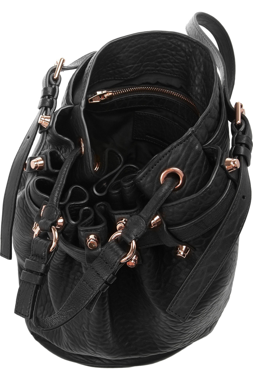 Alexander Wang Diego textured-leather shoulder bag